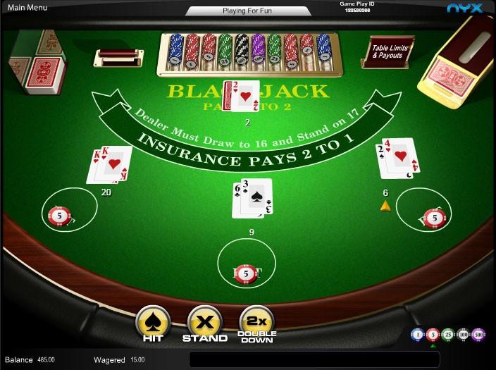 Online casino spanish 21