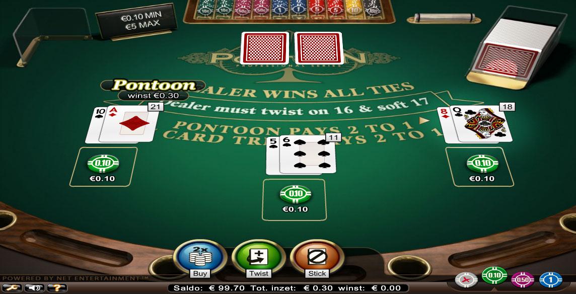 Blackjack tutorial game
