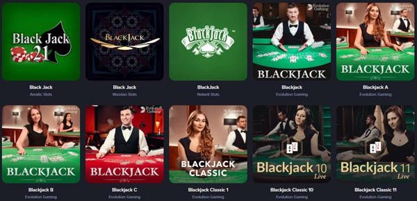 Casinorex spelaanbod