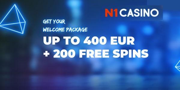 Welkomstbonus N1 casino